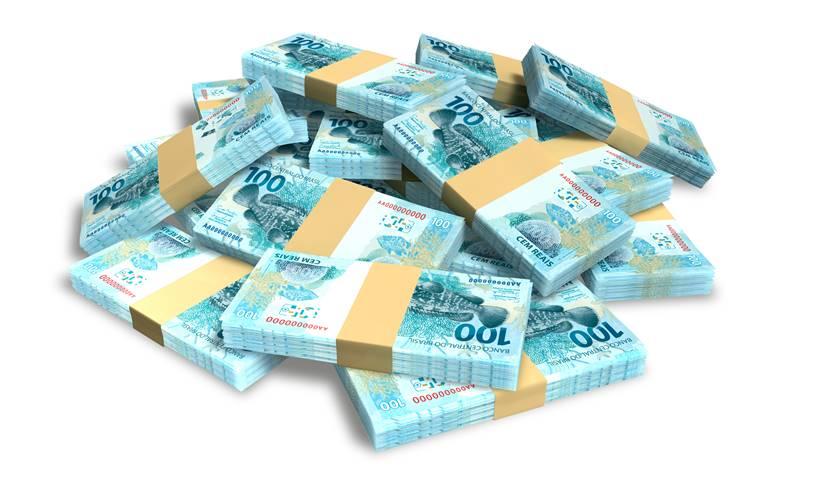 Dinheiro arrecadado pelas loterias - Divisão dos valores